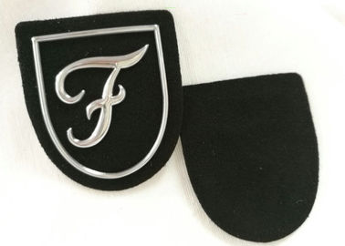 Promotional Silver Tpu Logo Raised Custom Pvc Patches No Minimum